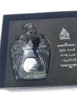 Nước hoa Dubai Đại bàng đen Ghala Zayed Luxury Royal 1