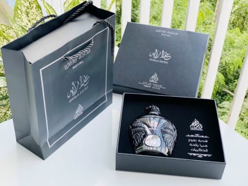 Nước hoa Dubai Đại bàng đen Ghala Zayed Luxury Royal 3