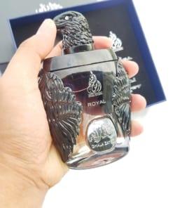 Nước hoa Dubai Đại bàng đen Ghala Zayed Luxury Royal 4
