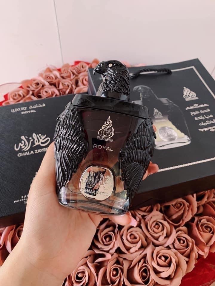 Nước hoa Dubai Đại bàng đen Ghala Zayed Luxury Royal 2