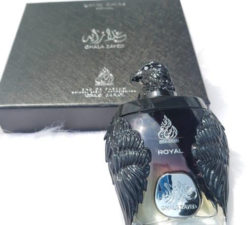 Nước hoa Đại bàng đen Ghala Zayed Luxury Royal a