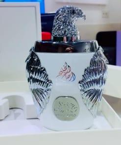 Nước hoa Dubai Đại bàng trắng Ghala Zayed Luxury Silver 4