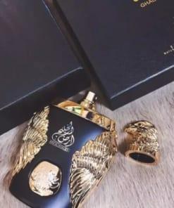 Nước hoa Dubai đại bàng vàng Ghala Zayed Luxury Gold 5