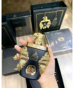 Nước hoa Dubai đại bàng vàng Ghala Zayed Luxury Gold 4