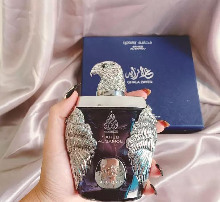 Nước hoa Dubai đại bàng xanh Ghala Zayed Luxury 3