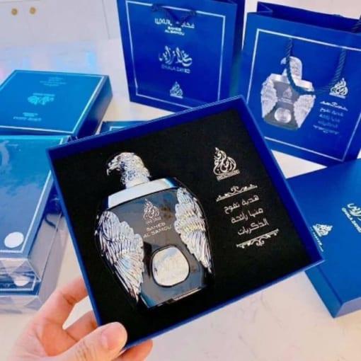 Nước hoa Dubai đại bàng xanh Ghala Zayed Luxury