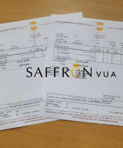 hóa đơn ajmal saffron vua 1