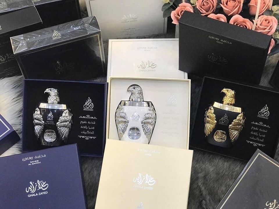 Nước hoa Dubai Đại bàng Ghala Zayed Luxury